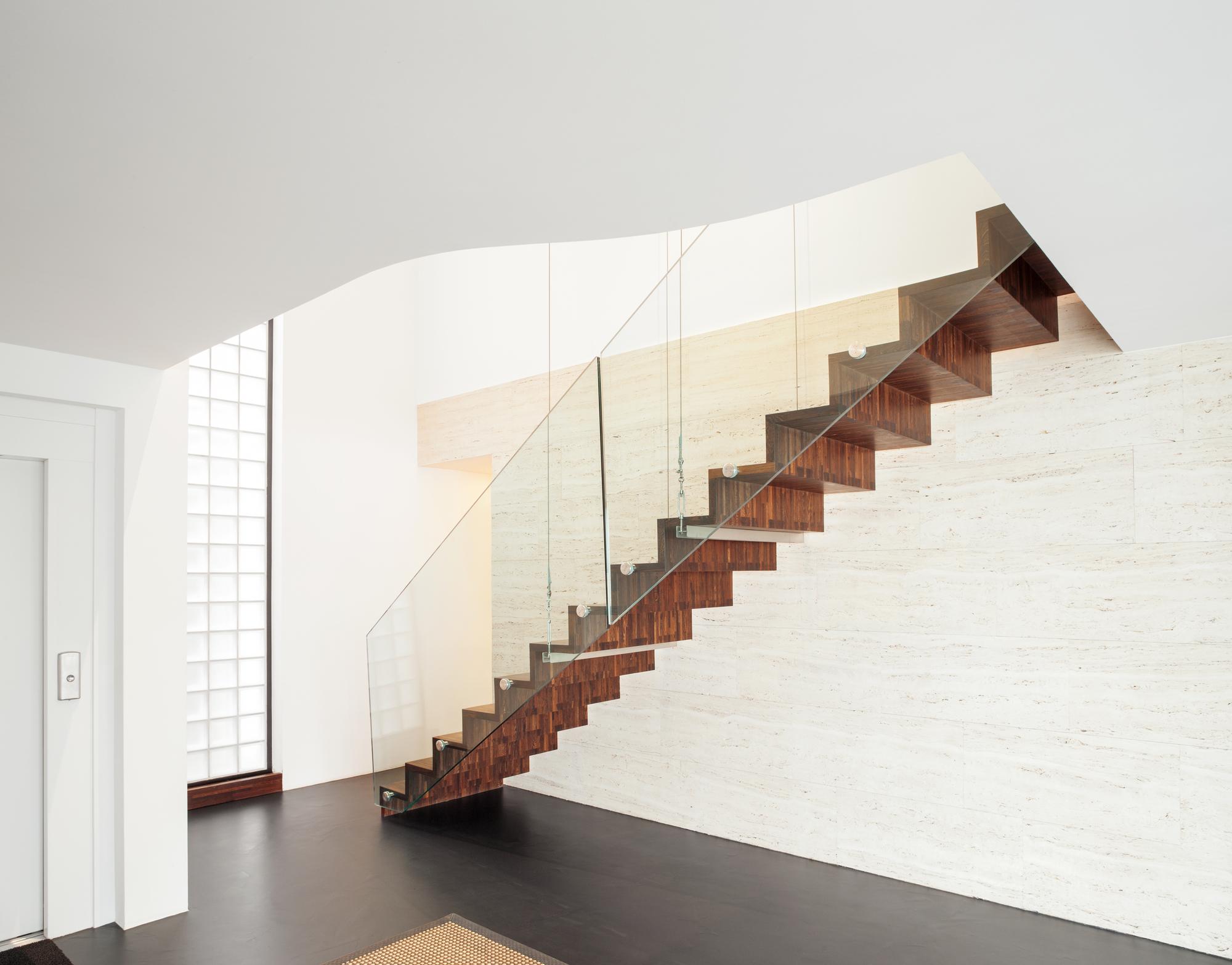Rivestimenti Scale Interne Gres Porcellanato scale interne moderne - prezzi, progettazione e finiture