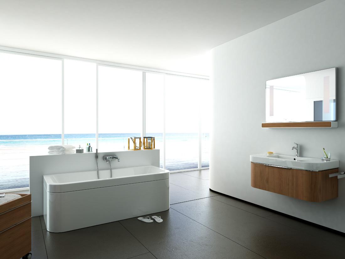 Vasca Da Bagno Freestanding Rettangolare : Vasca da bagno rettangolare prezzi tipologie e costi di posa