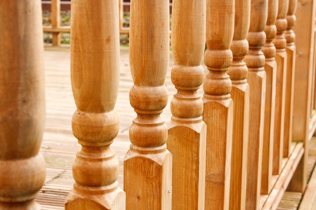 Soppalco In Legno Per Esterno balaustre in legno - prezzi, caratteristiche, agevolazioni