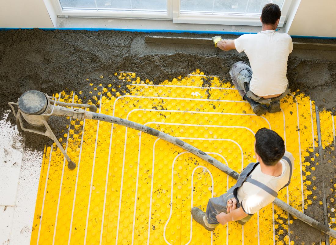 Quanto Costa Un Impianto Di Riscaldamento A Pavimento Al Mq massetto per riscaldamento a pavimento - prezzi e consigli