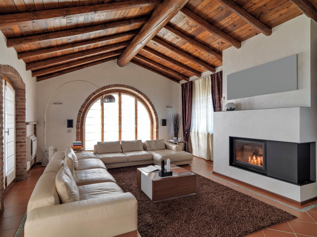 Soffitti in legno prezzi posa in opera e agevolazioni for Pannelli in legno lamellare prezzi