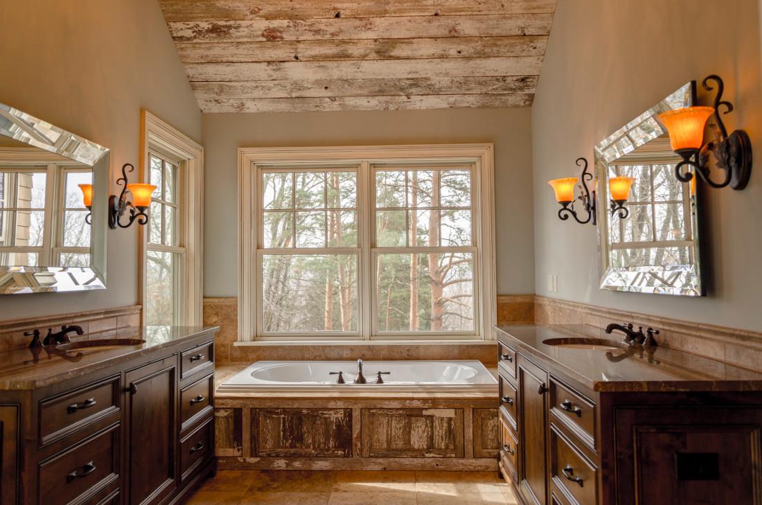 Arredamento Rustico Casa bagni rustici - prezzi di sanitari, rivestimenti e